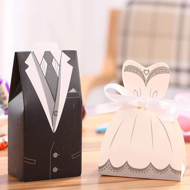 Ajándék doboz menyasszony-vőlegény