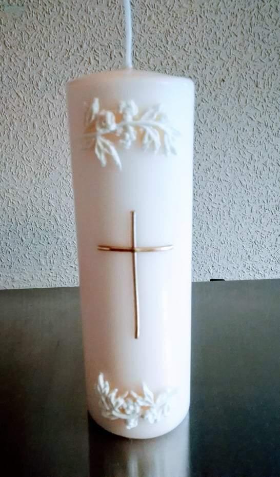 Keresztény esküvőre, gyertya