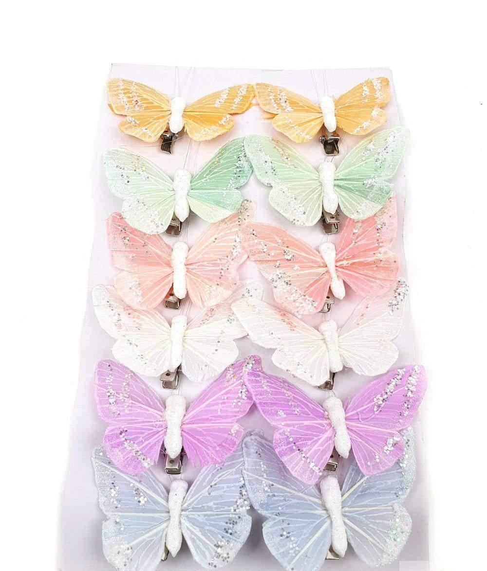 Lepke, pillangó csipeszes
