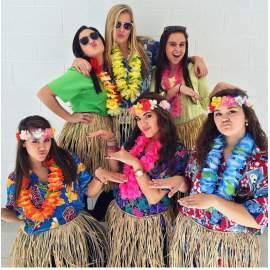 Hawaii esküvői kellékek