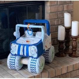 Pelenkatorta autó- traktor formatorta