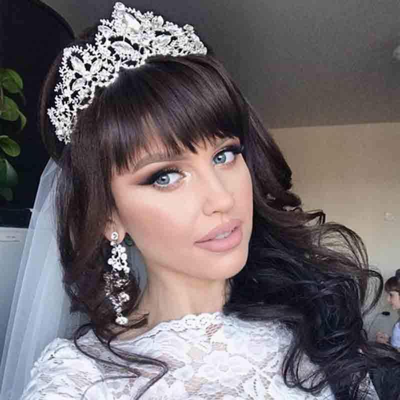 Diadém tiara hajékszer