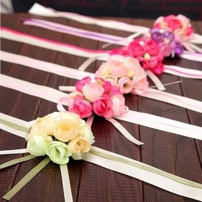 Virág karkötő